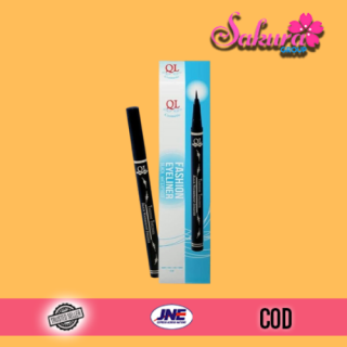 QL FASHION EYELINER SPIDOL black waterproof Eyeliner QL Spidol Waterproof Original BPOM thumbnail