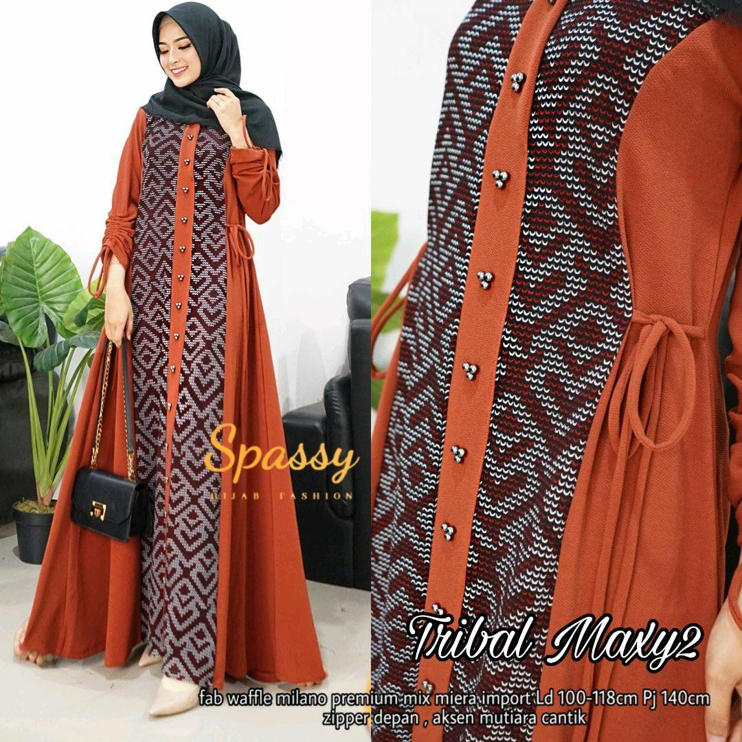 TRIBAL MAXY ORI SPASSY / MATT WAFFLE / MAXY DRESS / VINTAGE DRESS