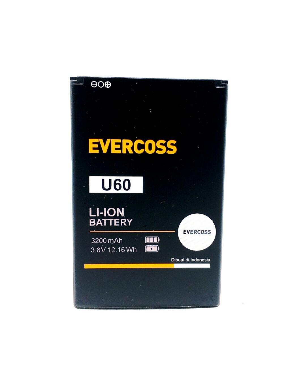 Baterai Handphone Evercoss U60 E82 Batre Battery Original