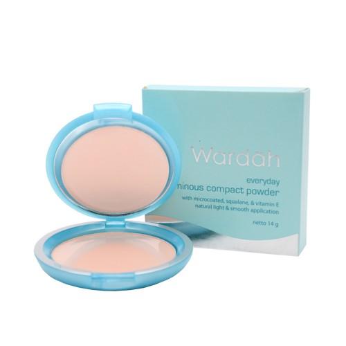 WARDAH Compact Powder 14gr / Makeup Wajah / Bedak Wajah