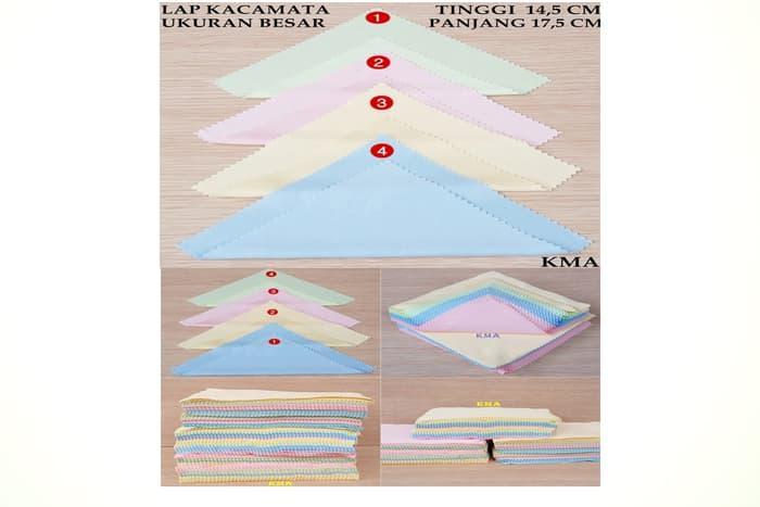 Terlaris - Lap Kacamata Kain Microfiber By Gudang Fashion Mumu Bandung.
