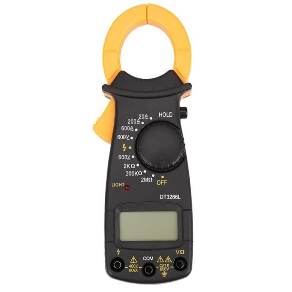 ANENG DT3266L AC / DC Portable Handheld Digital Clamp Meter Multimeter Multimeter Voltage Current Resistance Tester with Lead Test