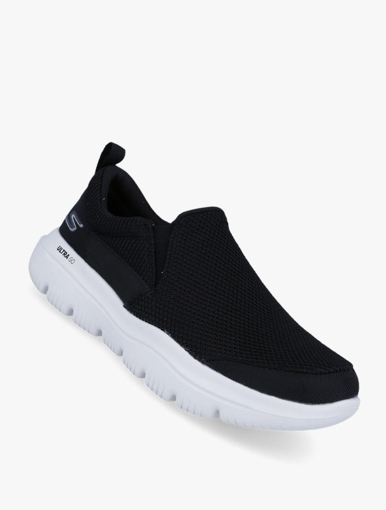 SKECHERS GOwalk Evolution Ultra - Impeccable - Sepatu Pria - Hitam fbab951706