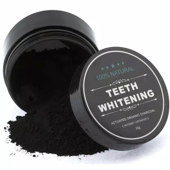 Yangma Pemutih Gigi Alami Teeth Whitening Charcoal Powder 30gr 7b21107225