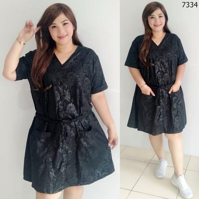 Dress Wanita Jumbo / Dress Wanita Pesta / Dress Wanita Murah / Dress Wanita Korea / Dress Wanita Terbaru