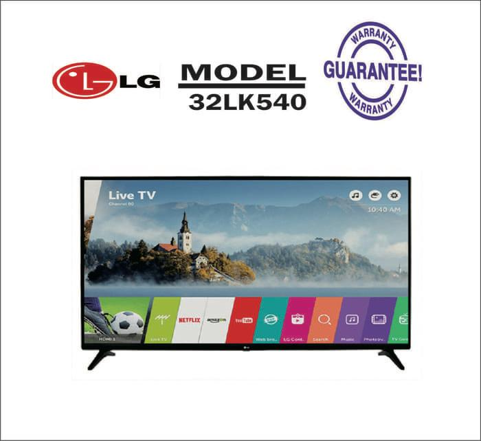 LG 32LK540BPTA LED TV 32 Smart TV WEB OS 4.0 Internet Free Pack Kayu
