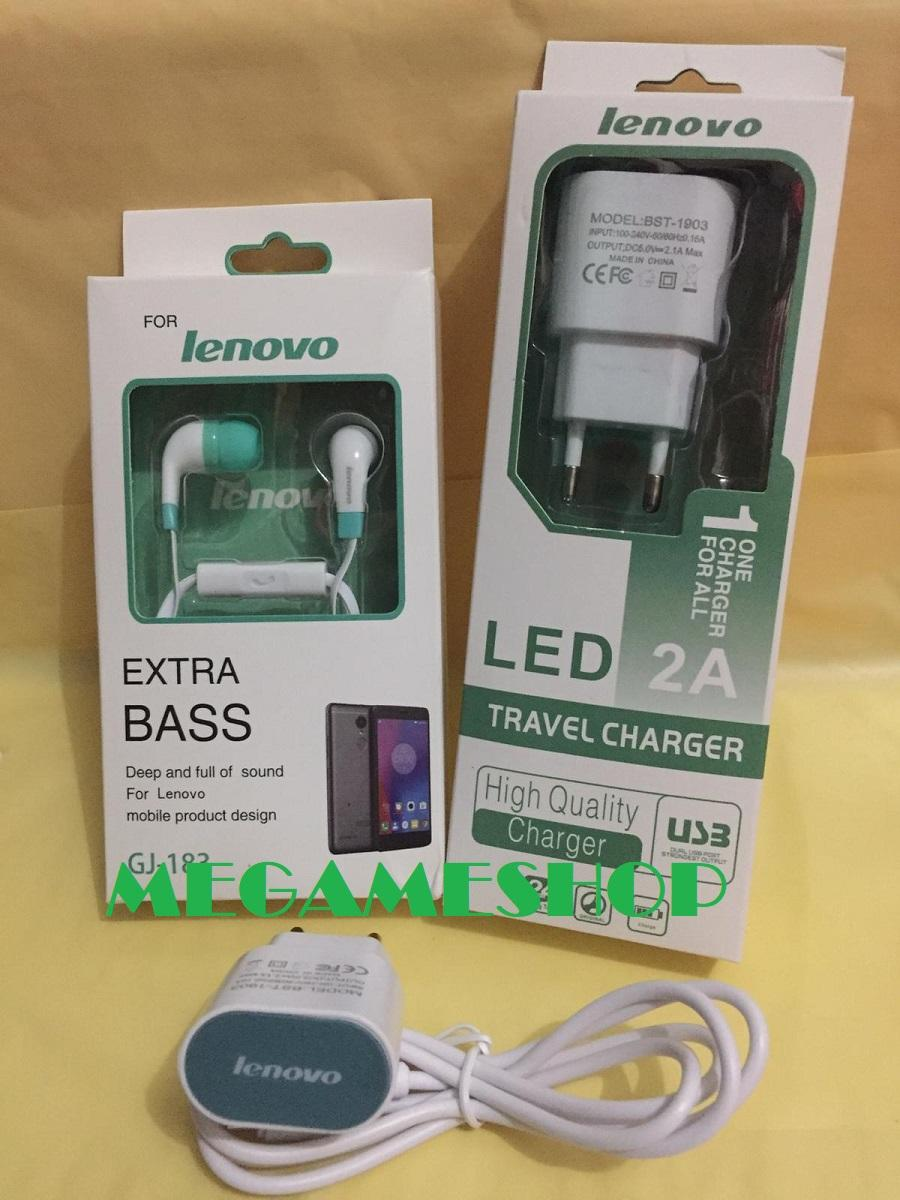 Super Promo Charger LENOVO 2.1 A LED FREE Headset EXTRA BASS LENOVO Carger Casan Chasan Cash Fast Charger FastCarger FasChager Pengisi daya Fast Charging Cas For ALL TIPE A6000Plus / A7000 / A6010 / A1000 / A2010 / Lemon 3 / A369i / K3 A859 / A889_MG27