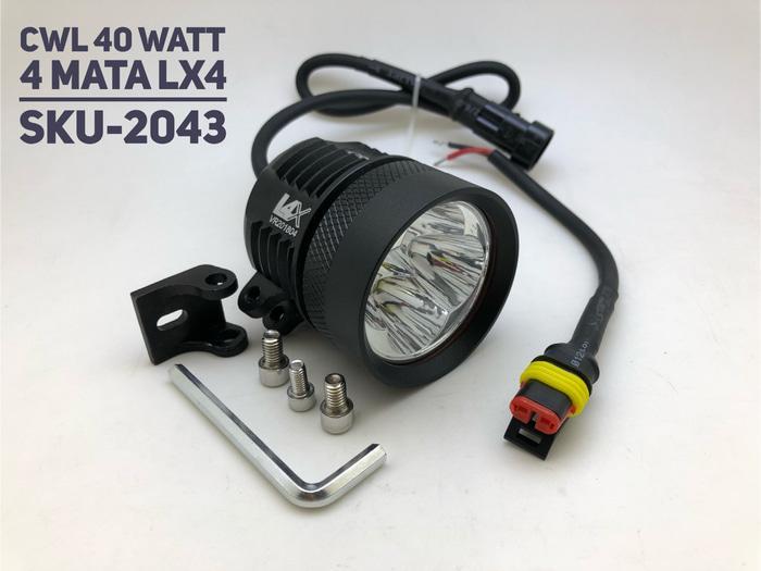 TERLARIS!!! Lampu Tembak motoled 6mata 36 watt for motor Aerox Motor Nmax Vixion SEDIA JUGA Lampu tumblr - Lampu led - Lampu sepeda - Lampu hias