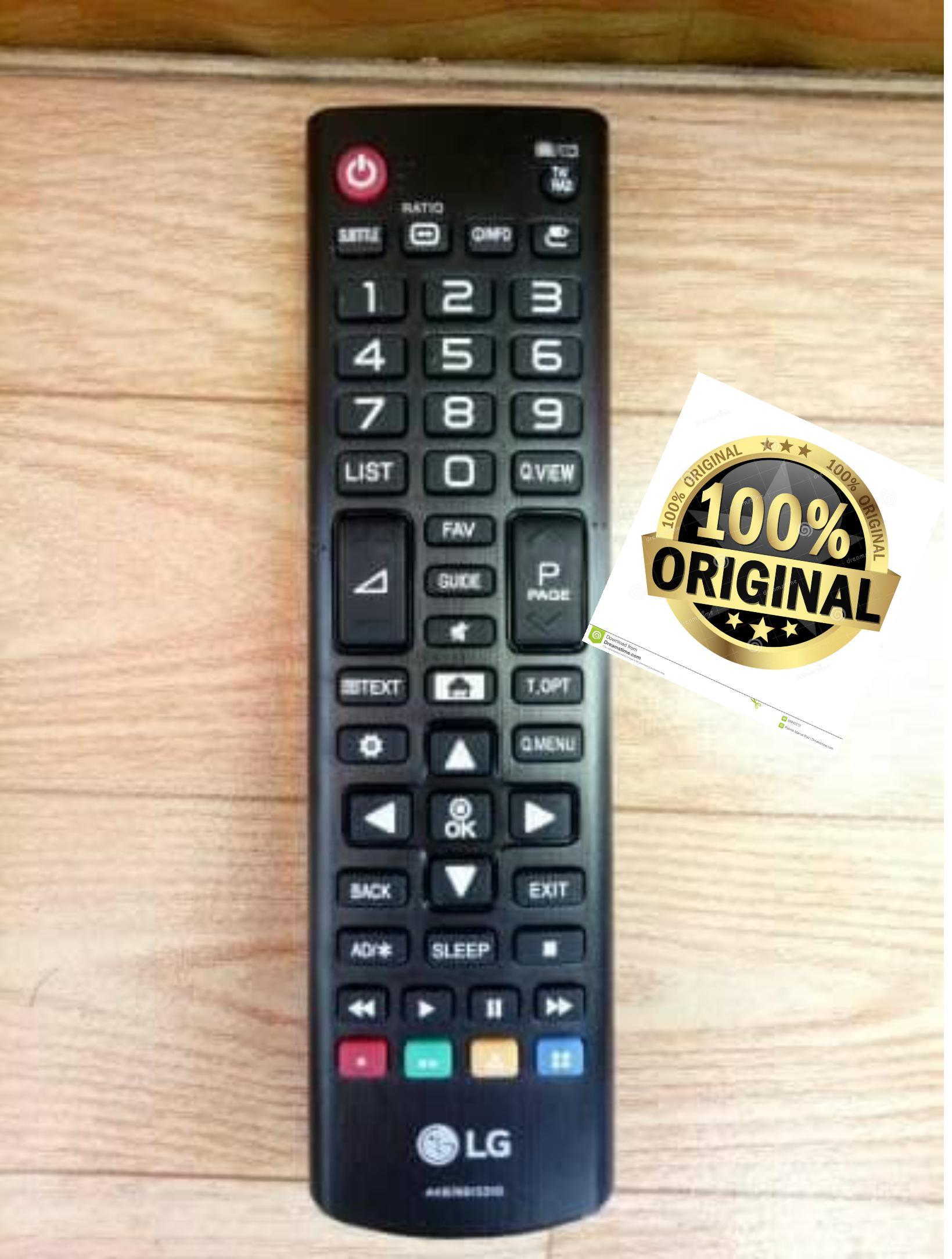 Remote TV LED/LCD LG original 100%