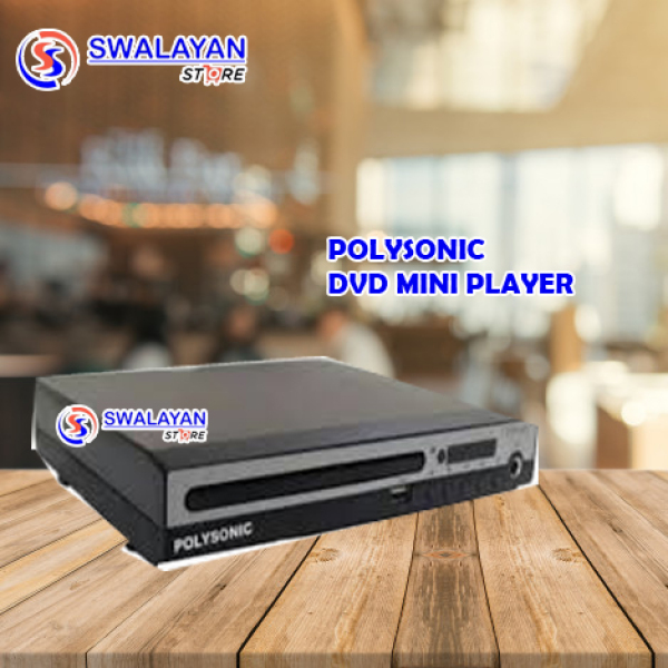 DVD PLAYER MINI POLYSONIC ORIGINAL