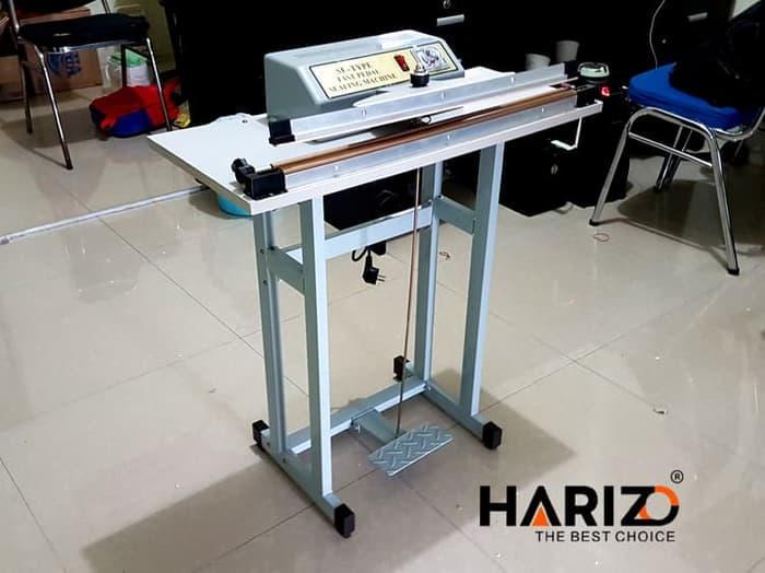 Alat Press Plastik 65 Cm Pedal Sealer Mesin Segel Las Aluminium Foil