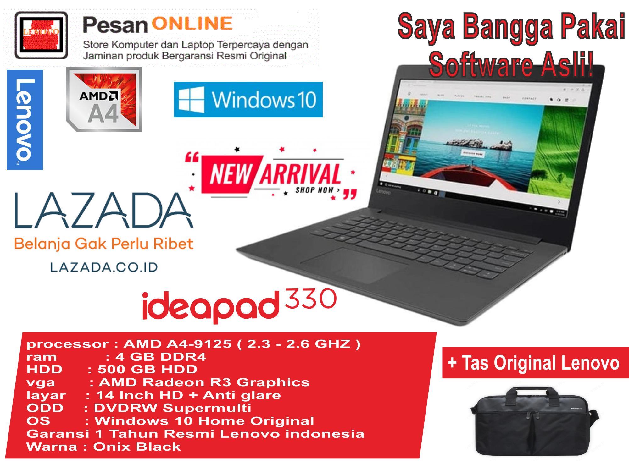 PROMO Lenovo IdeaPad 330 -14AST / AMD A4 -9125 (2.3 - 2.6 GHZ