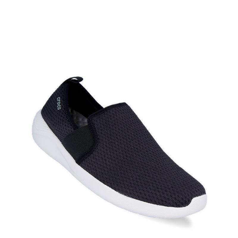 Crocs Literide Mesh Slip On Sepatu Pria - Hitam d5f16da228