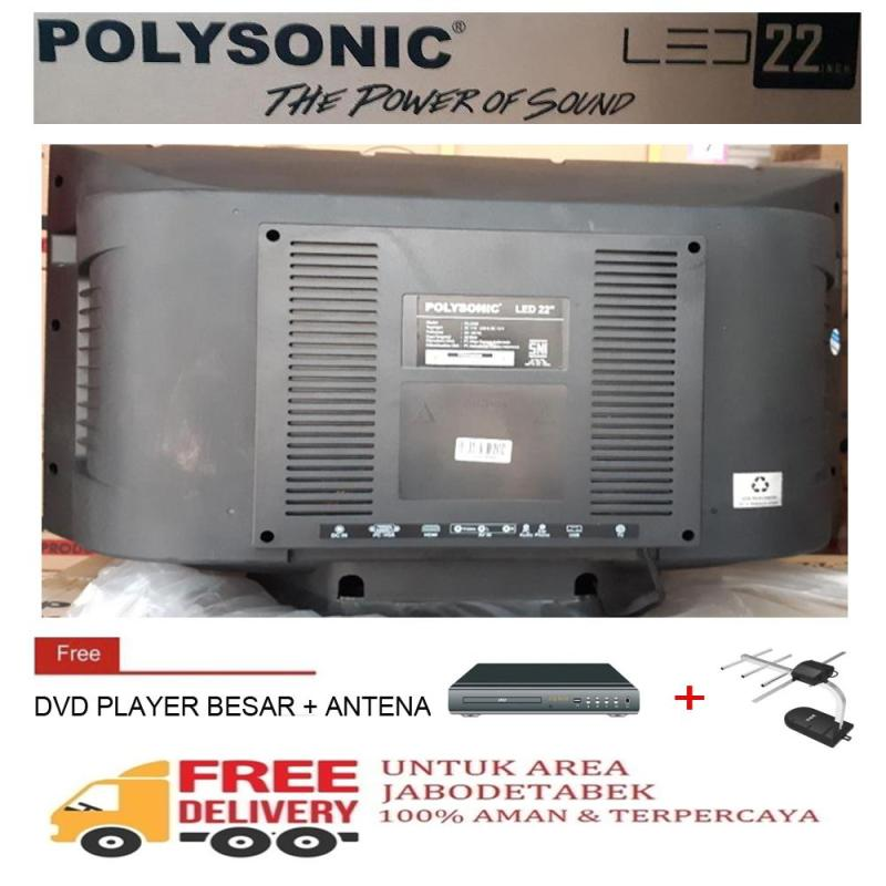 Polysonic 22 inch TV LED TABUNG PS-2295-KHUSUS JABODETABEK