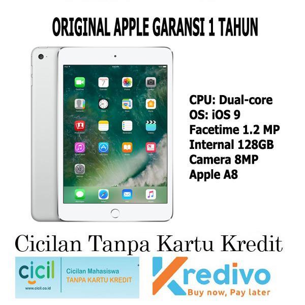 Apple iPad Mini 4 WiFi Only - 128GB - Silver