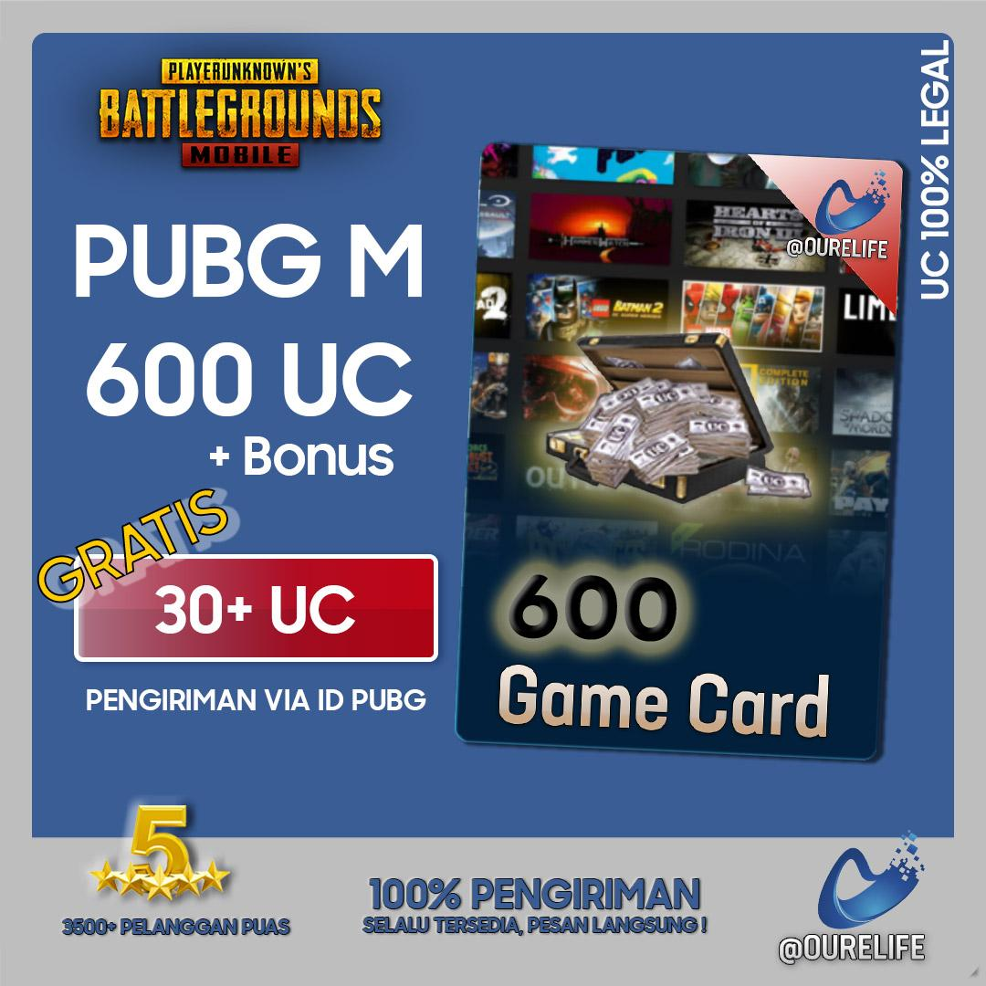 Player Unknowns Battleground Mobile (pubg Mobile) 600 Unknown Cash (uc) / Elite Pass By Ourelife.co.id.