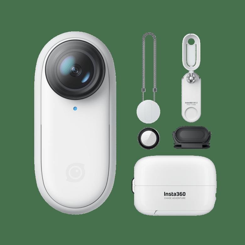 Camera Hành Động Tiny Insta360 GO 2, Không Thấm Nước, Ổn Định, POV Capture, Phụ Kiện Máy Ảnh Đeo Được Dành Cho Du Lịch, Thể Thao, Vlog