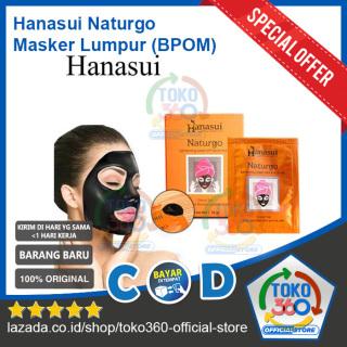 (Isi 10 Lembar) Naturgo Masker Lumpur Original BPOM Masker Kental Hitam Angkat Komedo Hanasui BPOM By Jaya Mandiri Shiseido 1 Box 10 pcs 10pcs Bayar COD - Toko360 thumbnail
