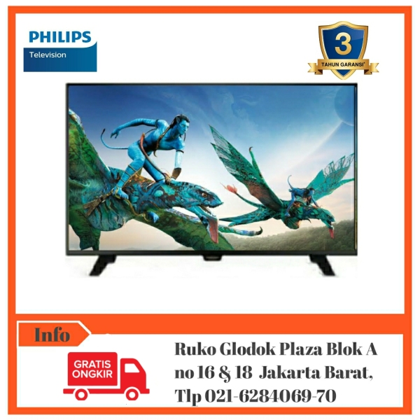 PHILIPS 24PHA4003S/70 HDMI/USB MOVIE/VGA [Bebas Ongkir]