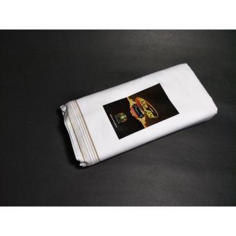 Sarung ATLAS Favorit 500 Putih Polos Halus Murah Tebal (Grosir & Ecer)