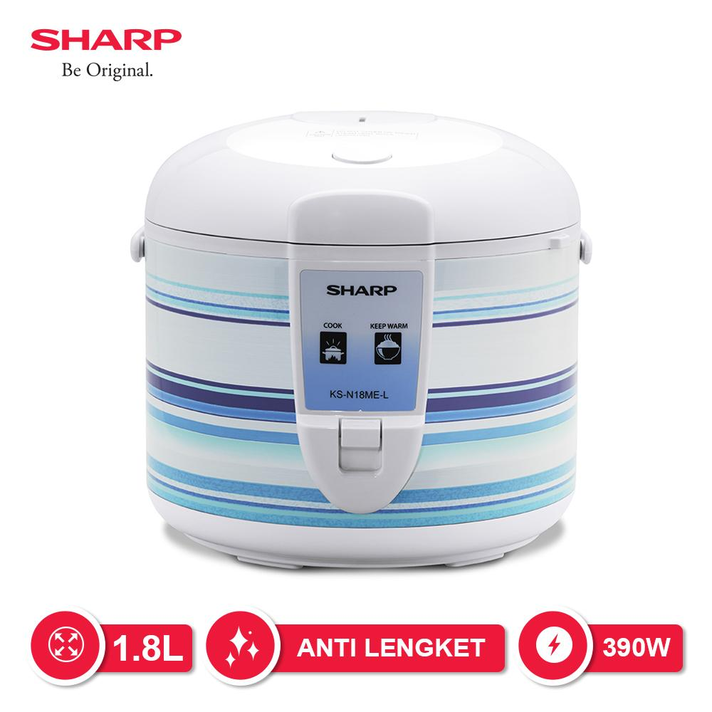 Sharp Rice Cooker KS-N18ME-C Penanak Nasi