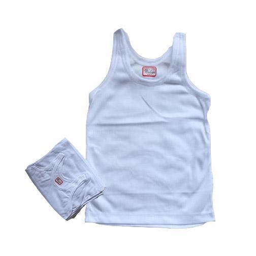 6 Pcs Kaos Dalam Anak - Singlet Anak - Size S, M, L, Xl, Xxl By Nimari Underwear.