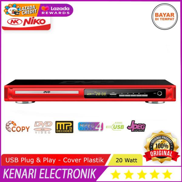 NIKO NK-189 DVD Mp4 Player Optic : SAMSUNG original termurah