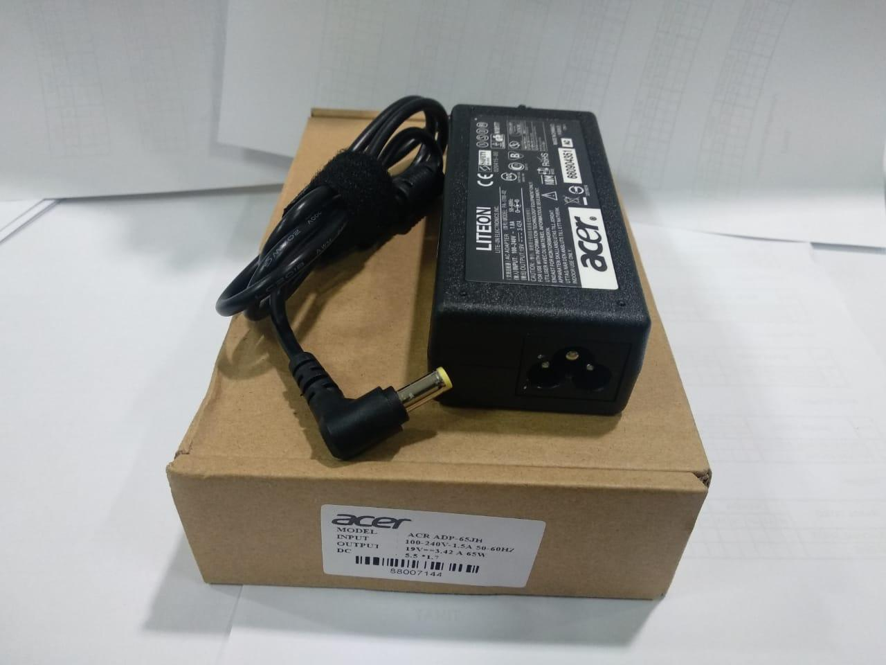 ACER LITE ON ORI Adaptor Charger ACER 19V 3.42 A ADP-65JH DB/ 5.5*1.7mm Acer Aspire 1200 1650 2920