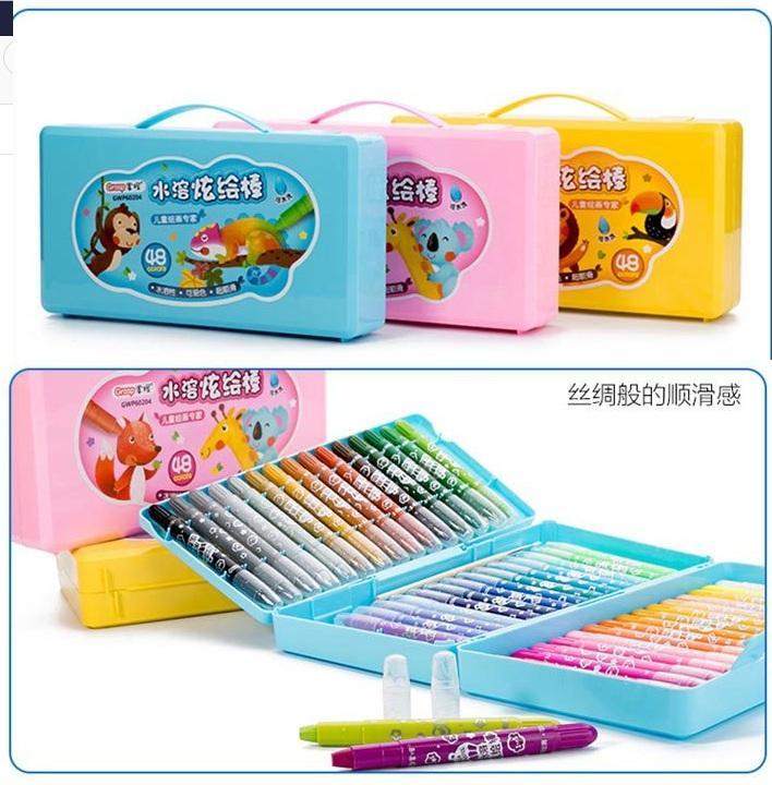 Grasp Original Crayon Putar 48 Warna Tipe 602 Mata kecil pensil warna warni