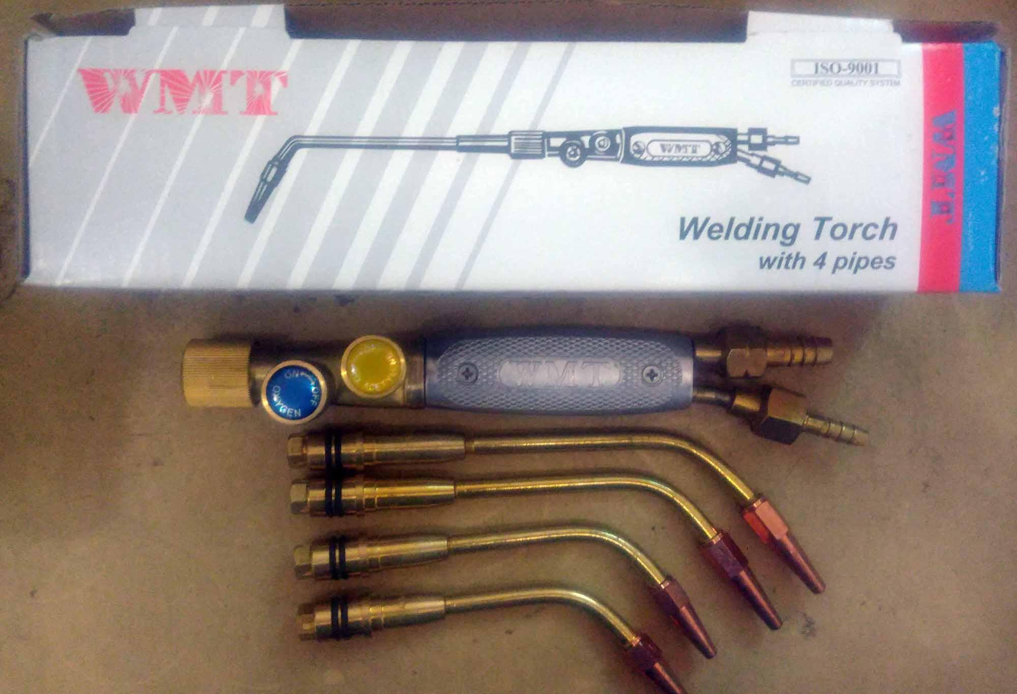 BLENDER LAS WELDING TORCH MODEL GLOOR LAS KARBIT WMT