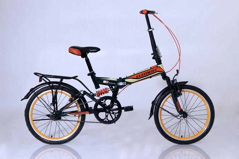 Sepeda Lipat Element Folding 69 Single Speed Hitam By Elementbike.
