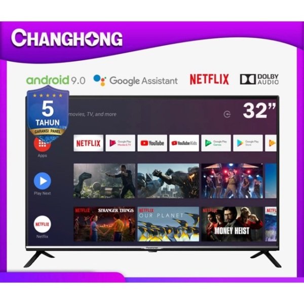 Android smart  Led tv Changhong 32 inch 32H4