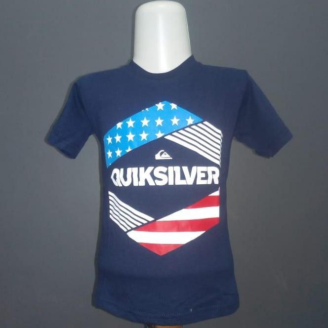Kaos/baju Anak Motif Quiksilver By Syariah Online Store.