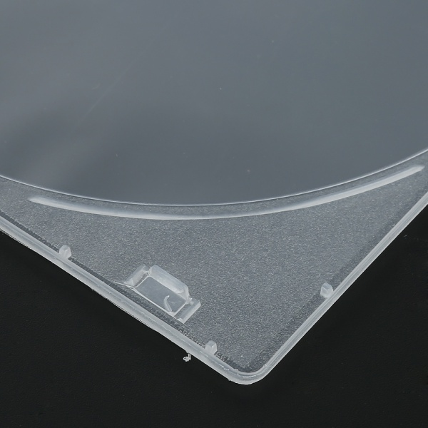 Ikesai[Ready Stock][Free Shipping] Promotion hot sale 1pcs Clear 5.2mm Single CD DVD R CDR DVDR Disc PP Poly Plastic Case Outer Sleeve