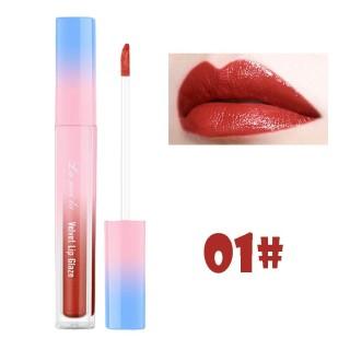 IS-(COD)Lameila Velvet Lip Glaze Lip Gloss Lipstick Cair Lipstik LaMeiLa Lip Tint - Menori thumbnail