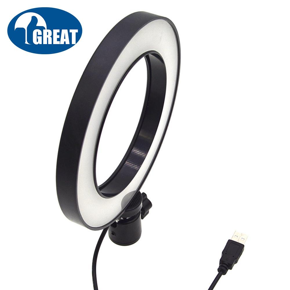 Goodgreat Dimmable Fluorescent Ring Light Kit: Ring Light, Light Stand, Soft Tube, Filter And Carry Bag For Portrait Photography Youtube Self Video Make-Up Hair Salon By Good&great.