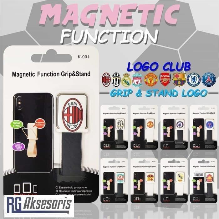 BEST SELLER BISA COD, Ungrip Stand Magnetic Logo Football / club bola Holder Gantungan HP Harga Diskon, Promo Termurah, Bayar di Tempat - NOURISHH INDONESIA