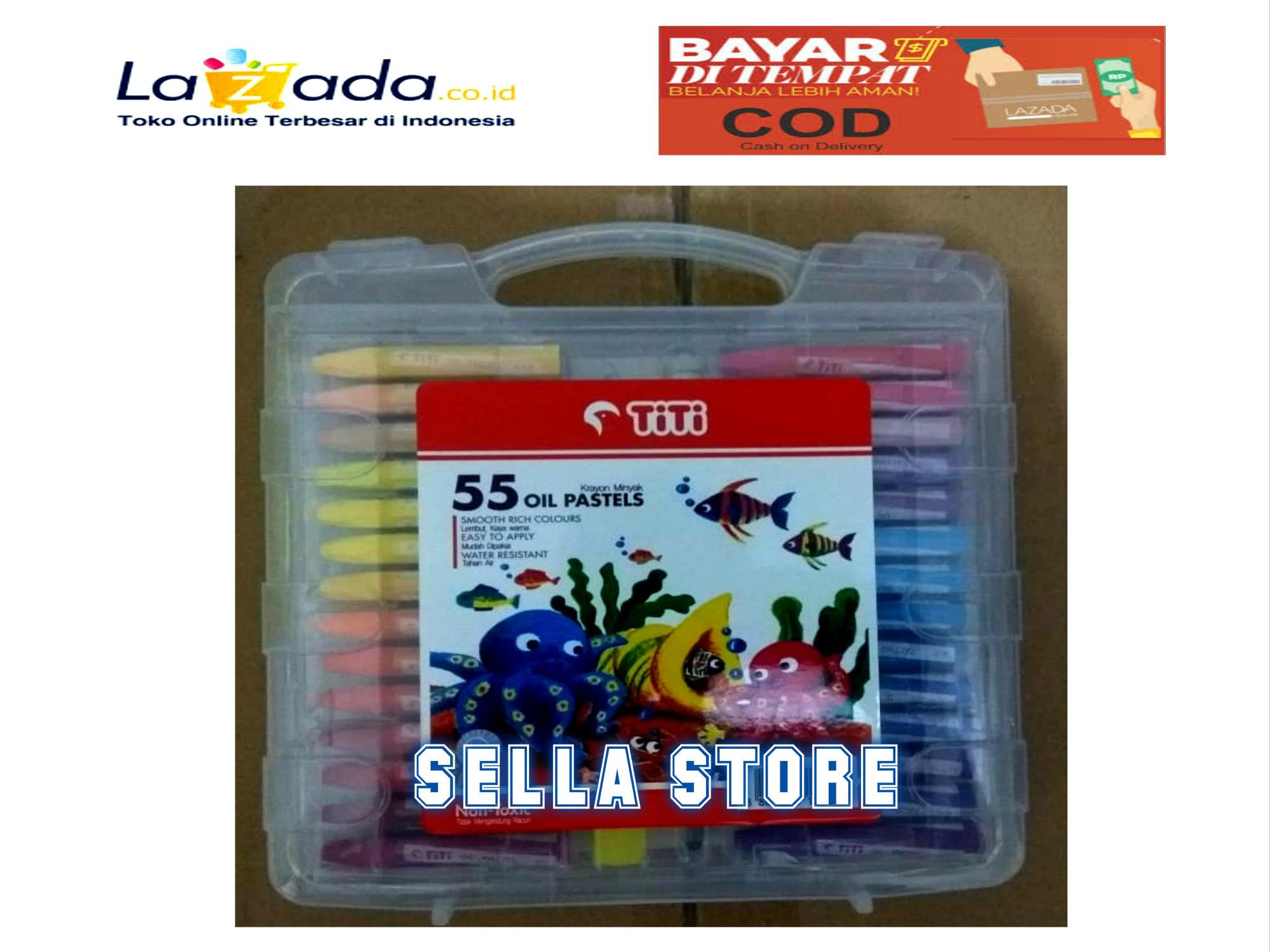 Hasil Mewarnai Gambar Crayon Warna Warni Gambar
