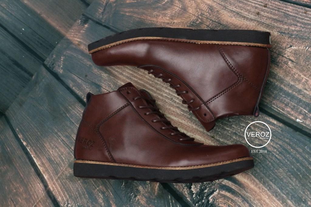 sepatu casual boots veroz brodo kerja formal santai hunting 62158d71ec