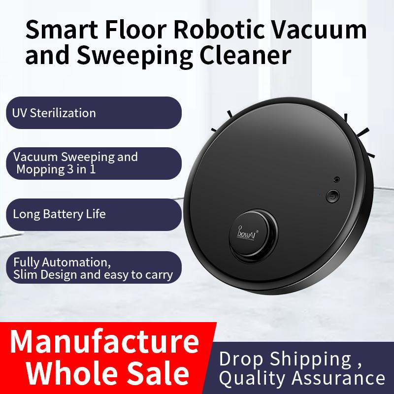 【Hàng Có Sẵn】 Robot Hút Bụi OB12 Với Chức Năng Lau Nhà, Robot Hút Bụi Với Chế Độ Hút Tối Đa 1200Pa Mạnh Mẽ, Hộp Đựng Bụi 200Ml, Thời Gian Chạy 70 Phút, Sạc USB, Robot Quét Dọn Máy Hút Bụi Thông Minh