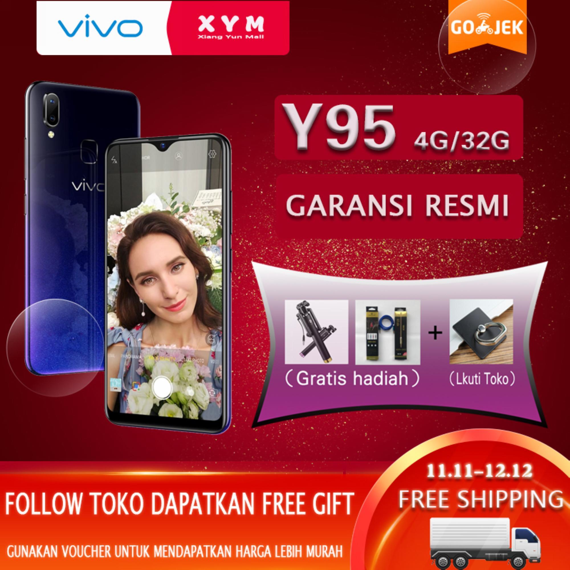 Handphone Smartphone Vivo Terbaru Y53 Ram 2gb Rom 16gb Garansi Resmi Indonesia 1 Tahun Y95 4gb 32gb Halo Fullview Display 4030mah Battery