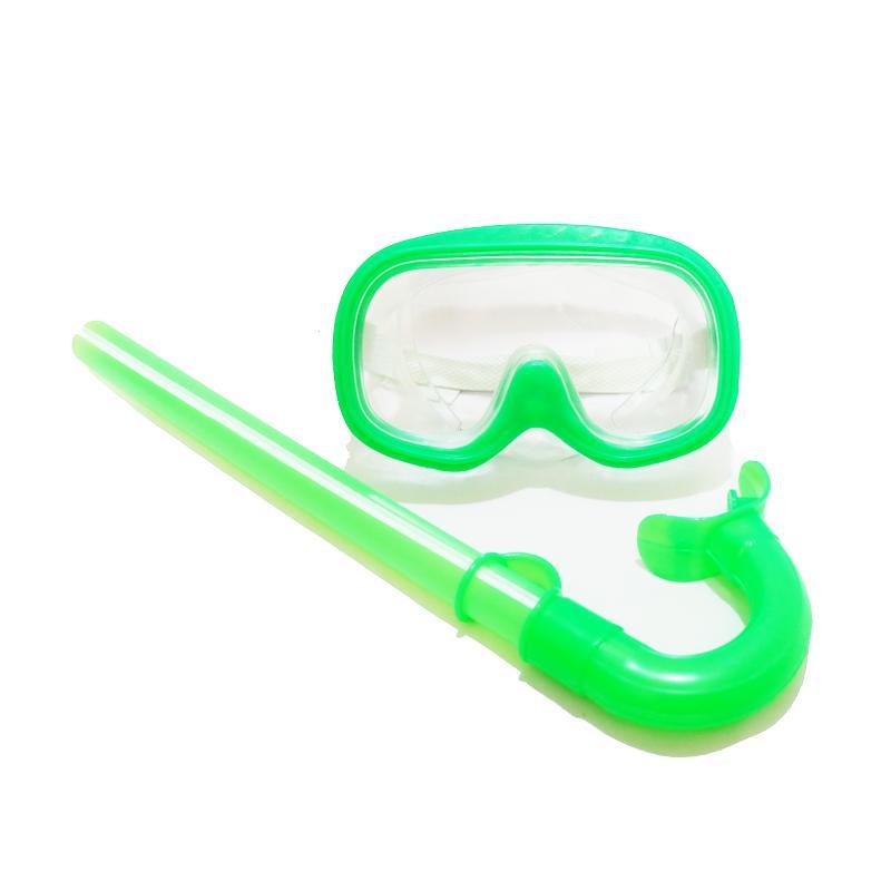 Ravenz Snorkling Snorkeling Set Anak Anak / Kaca Mata Renang - Warna Random By Ravenz.
