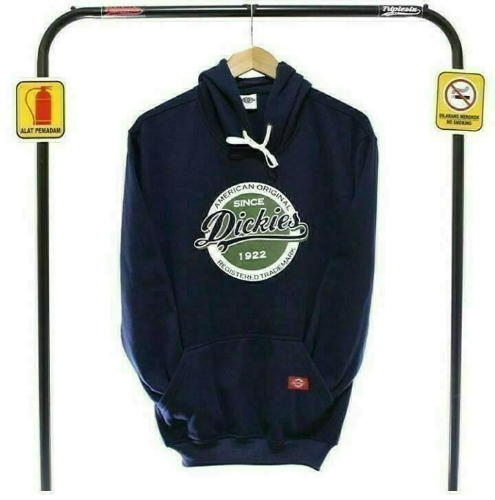 Jaket Sweater Distro Dickies Navy Blue Pria Wanita Terlaris dan Termurah