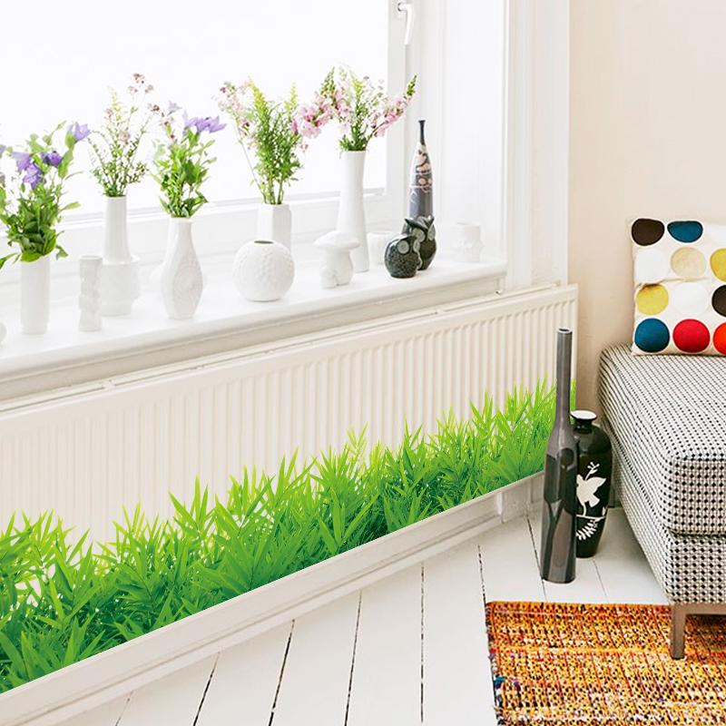 Ajibon Sticker Wallpaper Dinding Model Rumput Stiker Mesin Cuci Pagar Teras Dinding Rumah Jadi Lebih Cantik Dan Hijau Lazada Indonesia