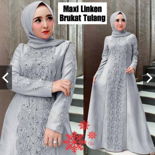 Gamis Terbaru 2020 Modern Gamis Size M L Xl Xxl Gamis Linkana Baju Gamis Terbaru Wanita 2020 Gamis Brukat Terbaru 2020 Gamis Wanita Gamis Brokat Gamis Brukat Gamis Syari