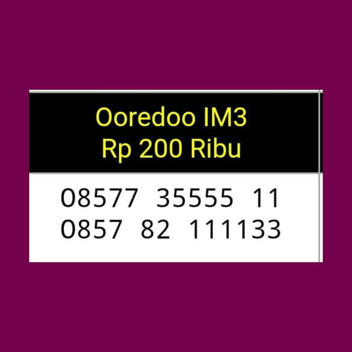 Nomor Cantik Indosat IM3 seri terbaru Triple AA murah/Bagus/Bawa Hoki