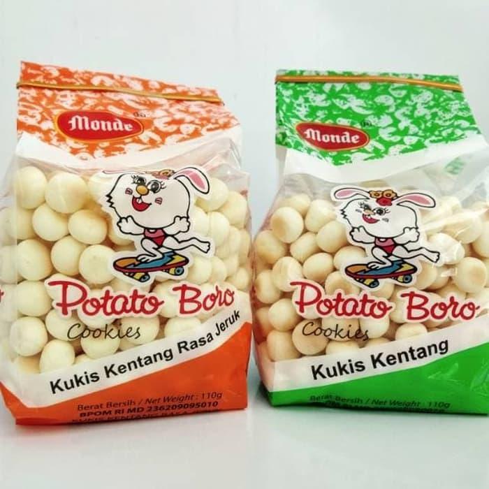 Monde Potato Boro Biskuit Cemilan Bayi By Toko Lielys.