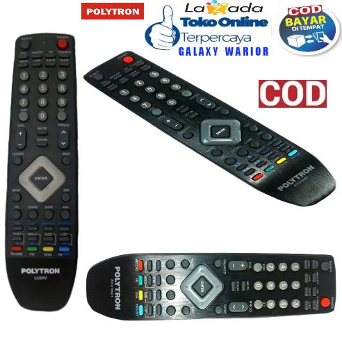 Remote TV POLYTRON Original 100% LCD LED - POLYTRON Remote TV.