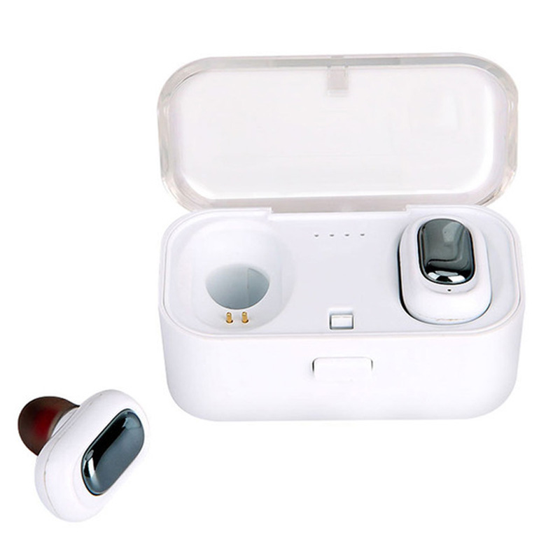 Bảng giá L1 Bluetooth Headset Tws Wireless Earphones 3D Stereo Sound Waterproof Earbuds Built-In Mic with Charging Box