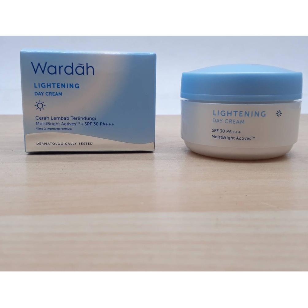 ismayaolshop - wardah lightening day cream 30 gr - makeup - cream siang - wajah